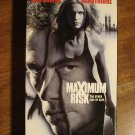 Maximum Risk VHS video tape movie film, Jean Claude Van-Damme, Natasha Henstridge