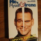 Me, Myself & Irene VHS video tape movie film, Jim Carrey, Renee Zellweger
