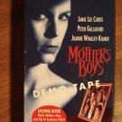 Mother's Boys promo screener VHS video tape movie film, Jamie Lee Curtis, Peter gallagher