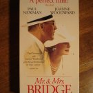 Mr. & Mrs. Bridge VHS video tape movie film, Paul Newman, Joanne Woodward, Blythe danner