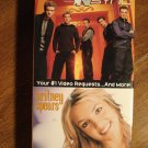 Nsync & Britney Spears VHS music video tape movie film, concerts with behind the scenes footage