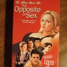 Opposite Sex VHS video tape movie film, Christina Ricci, Lisa Kudrow, Lyle Lovett