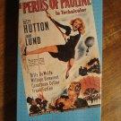 The Perils Of Pauline VHS video tape movie film, Betty Hutton, John Lund, Billy DeWolfe