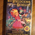 The Princess & The Goblin animated VHS video tape movie film cartoon, Roy Kinnear, Claire Bloom
