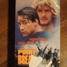 Point Break VHS video tape movie film, Patrick Swayze, Keanu reeves, Gary Busey