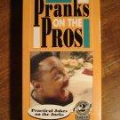 Pranks On The Pros VHS video tape movie film, practical jokes, Charles Barkley, Deion Sanders