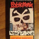 Psychomania VHS video tape movie film, George sanders, Beryl Reid, Nicky Henson