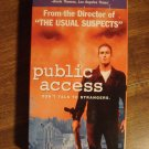 Public Access VHS video tape movie film, Ron Marquette, Dina Brooks, Burt Williams