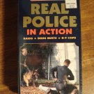 Real Police In Action VHS video tape movie film Raids, Drug Busts, K-9 corps, hi-speed chases