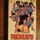 Recruits VHS video tape movie film, Like Police Academy, Lolita David, Thor