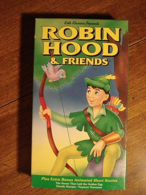 Robin Hood & Friends VHS animated video tape movie film cartoon