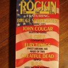 Rockin In The USA VHS music video tape movie film, Bruce Springsteen, John Cougar, Grateful Dead