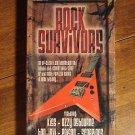 Rock Survivors VHS music video tape movie film, KISS, Ozzy Osbourne, Bon Jovi, Poison