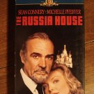 The Russia House VHS video tape movie film, Sean Connery, Michelle Pfeiffer, Roy Scheider