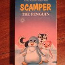 Scamper The Penguin VHS animated video tape movie film cartoon,