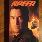 Speed VHS video tape movie film, Keanu Reeves, Dennis Hopper, Sandra Bullock