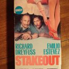Stakeout VHS video tape movie film, Richard Dreyfuss, Emilio Estevez