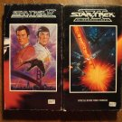 Star Trek IV & VI (4 & 6) VHS video tape movie film, William Shatner, Leonard Nimoy