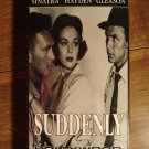 Suddenly VHS video tape movie film, Frank Sinatra, Sterling Hayden, James Gleason