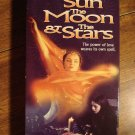 The Sun The Moon & The Stars VHS video tape movie film, Gina Moxley, Angie Dickenson