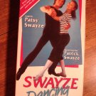 Swayze Dancing VHS video tape movie film, Learn dancing with Patrick & Patsy Swayze