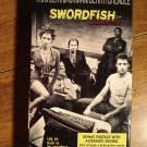 Swordfish VHS video tape movie film, John Travolta, Hugh Jackman, Halle Berry, Don Cheadle