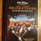The Three Musketeers VHS video tape movie film, Charlie Sheen, Kiefer Sutherland, Tim Curry