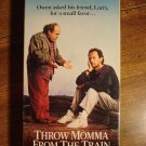 Throw Momma from the Train VHS video tape movie film, Danny DeVito, Billy Crystal,