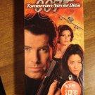 Tomorrow Never Dies VHS video tape movie film, James Bond 007, Pierce Brosnan, Michelle Yeoh