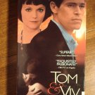 Tom & Viv VHS video tape movie film, Willem Dafoe, Miranda Richardson,