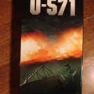U-571 VHS video tape movie film, Matthew McConaughey, Bill Paxton, Harvey Keitel, Jon Bon Jovi