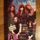 Turn Up The Volume 3 VHS music video tape movie film, Skid Row, KISS, Anthrax, Aldo Nova