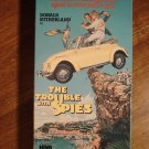 The Trouble With Spies VHS video tape movie film, Donald Sutherland, Ned Beatty, Ruth Gordon