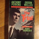 The Trial VHS video tape movie film, Anthony Perkins, Orson Welles, Romy Schneider