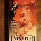 Uninvited VHS video tape movie film Jack Elam, Christopher Boyer, Erin Noble