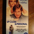 Up Close & Personal VHS video tape movie film Robert Redford, Michelle Pfeiffer