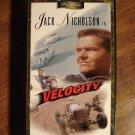 Velocity VHS video tape movie film, Jack Nicholson, Roger Corman, Joe Richards