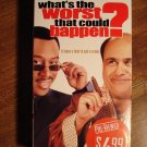 What's the Worst That Could Happen? VHS video tape movie film, Danny DeVito, Martin Lawrence