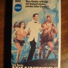 Volunteers VHS video tape movie film, Tom Hanks, John Candy, Rita Wilson