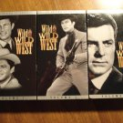 Wild Wild West VHS video tape TV Show, Vols. 1,2,3, Robert Conrad, Artemus Gordon