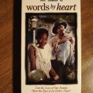 Words By Heart VHS video tape movie film, Charlette Rae, Robert Hooks, Alfre Woodard