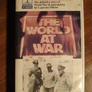 The World At War (WW II) Vol 8 War in North Africa VHS video tape movie film, Montgomery vs Rommel