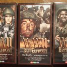 WWII Battlefront Atlantic & Pacific Campaigns VHS video tape movie film, World War 2 documentary