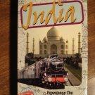 World's Greatest Train Ride - India VHS video tape movie film, Delhi, Taj Mahal, more