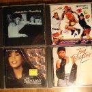 4 pop/rock female artist music CD's - Toni Braxton, TLC, Whitney Houston, Anita Baker