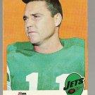 1969 Topps football card #29 (C) Jim Turner VG+ New York Jets
