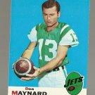 1969 Topps football card #60 Don Maynard EX/NM New York Jets