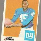 1969 Topps football card #244 Homer Jones EX New York Giants