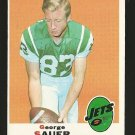 1969 Topps football card #231 (B) George Sauer NM/M New York Jets