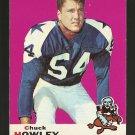 1969 Topps football card #97 (B) Chuck Howley EX+ Dallas Cowboys